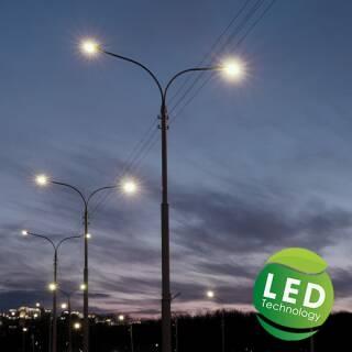 LED Straßenbeleuchtung für die Energiesparende...