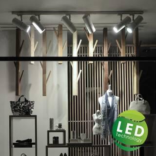 LED Schienenstrahler / Shop