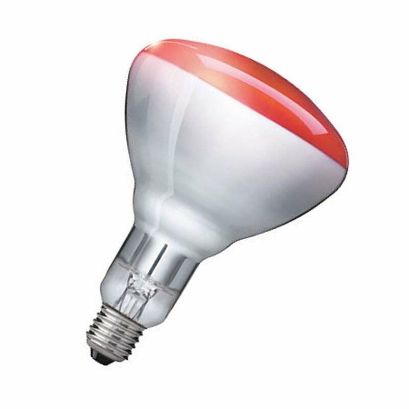 Philips Infrarotlampe Tieraufzucht IR150RH BR125 150W E27 Rot InfraRed