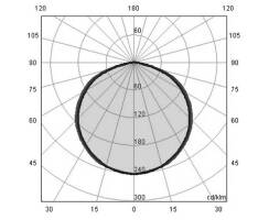TEC-MAR 1810/3 DIANA LED - Deckenleuchte - 37W - quadratisch
