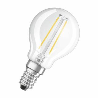 Osram LED Superstar Classic P Filament 3,3-25W/827 E14 klar 320° 250lm warmweiß dimmbar Blister
