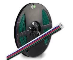 LINEAR TEC RGB+W Kabel, 5-polig, Farbkennzeichnung,...