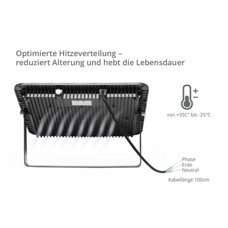 SUNSTAR LED SCheinwerfer Optimale Bedingungen für harte Anforderungen