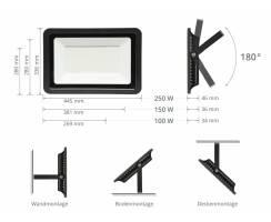 SUNSTAR LED Strahler Scheinwerfer 100W,150W,250W