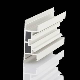 BILTON® Aluminium Profil | YT 2000mm 50W/m Wand 55x18,5mm PROFIL