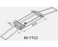 BILTON Montage YT Feder Steel 63,2x8x20mm Detailbild 0
