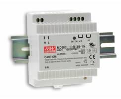 MeanWell LED Treiber 30W/24V REG Hutschiene (DIN Schiene)