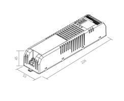 BILTON | LED Treiber + DIMMER | SXT DMX/Analog |230VAC |...