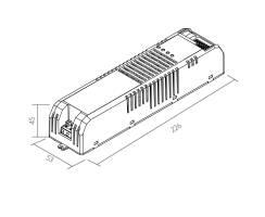 BILTON | LED Treiber + DIMMER | SXT KNX | 230VAC | 100W |...