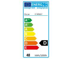 Osram Halopin ECO 66748 48W G9 klar Energy Saver ES 2000h...