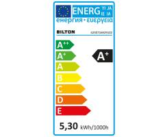 BILTON® TWO 600 | LED Streifen | 24V | 5,8W/m | IPX6 | CRI> 80 | 2700K | 5m | 101725
