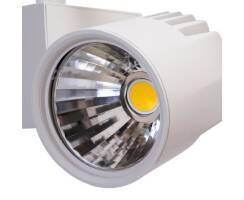 Müller Licht LED Schienenstrahler Tega Weiß 60° 4500lm Ra90 3000K