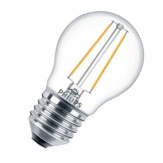 Philips LED CL LEDluster P45 DIM 2,7-25W/827 E27 250lm klar dimmbar