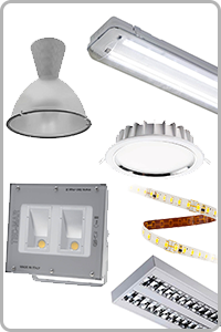 LED Beleuchtung, B�ro, Gewerbe, Industrie