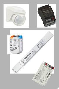 LED Steuerungen, Trafos, Bewegungsmelder, DALI, KNX, ENOCEAN,...